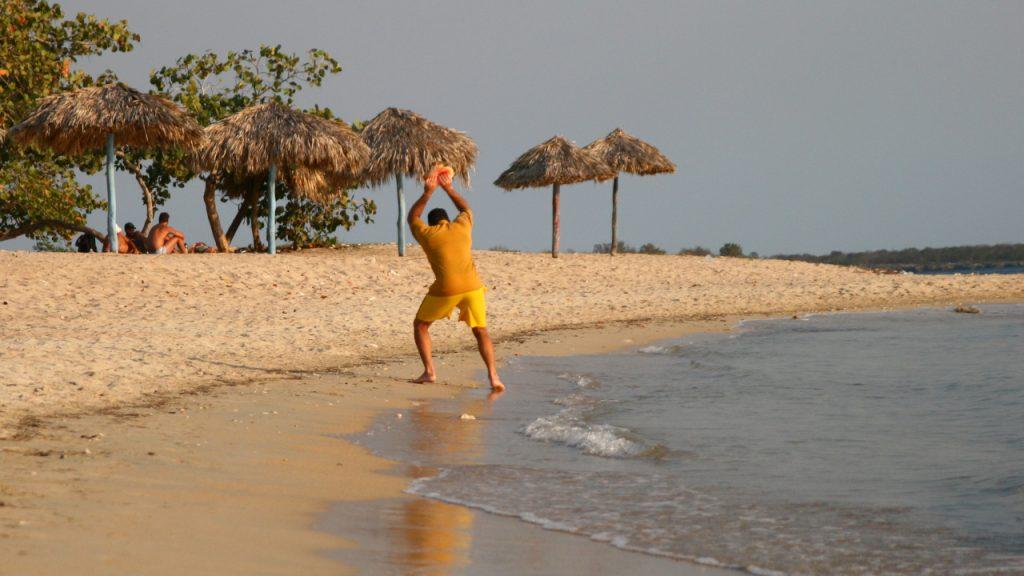 pláže na kube - playa ancón