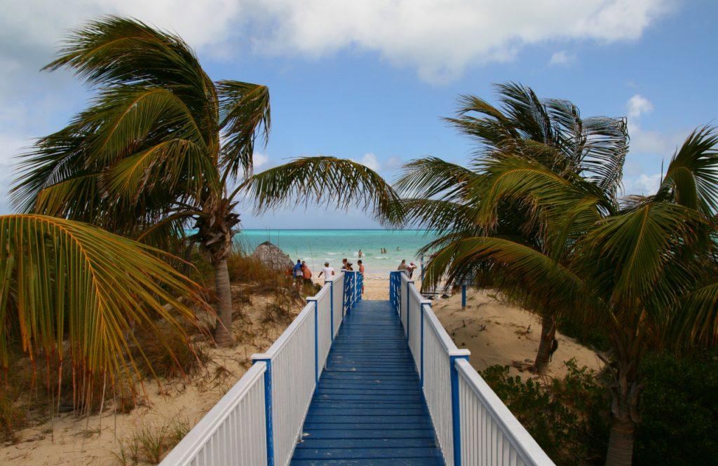 najkrajšie pláže na Kube Cayo Guillermo Playa Pilar