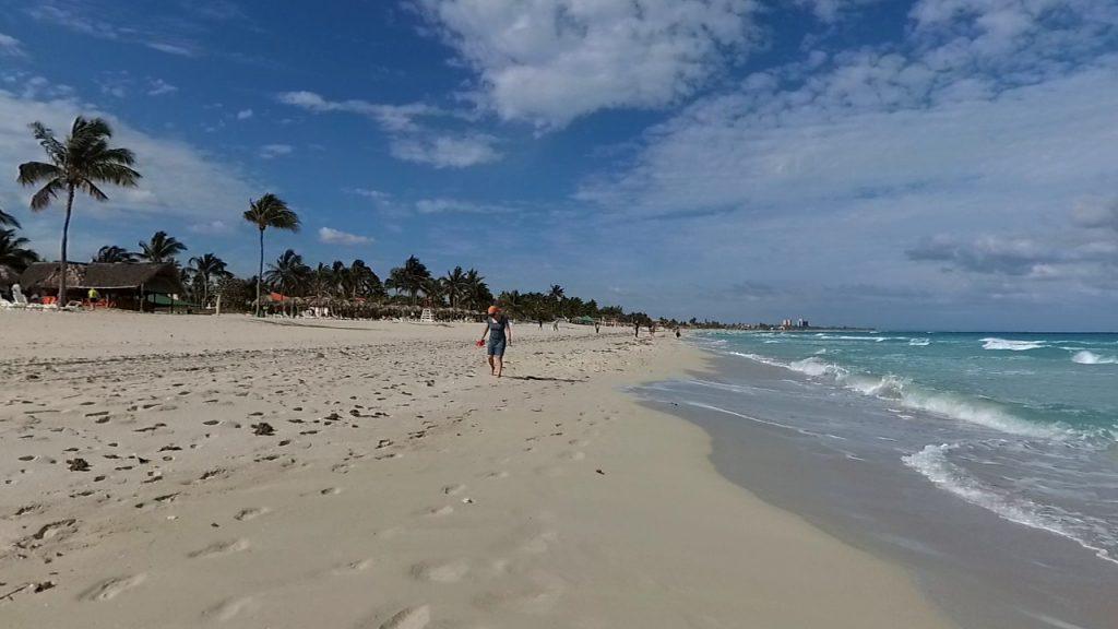 pláže vo Varadere na Kube