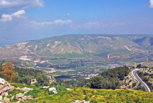 Golanské výšiny Izrael, golan heights