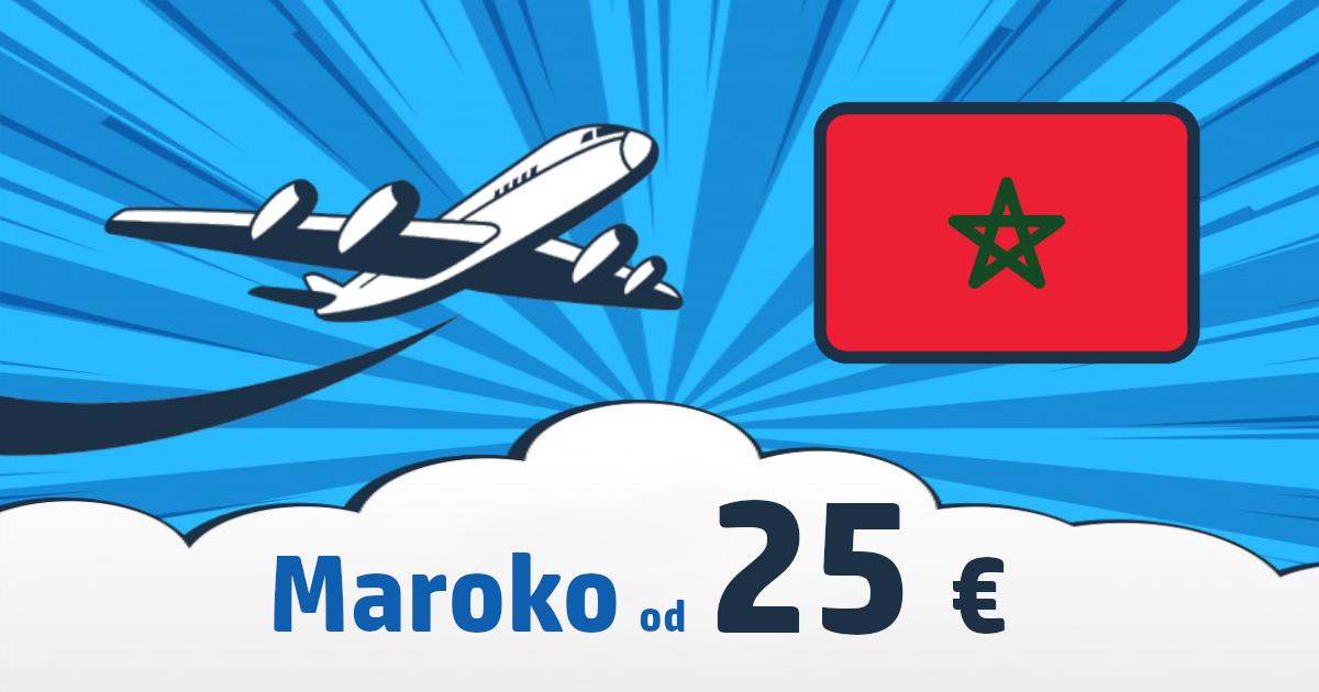 Lacné letenky do Maroka