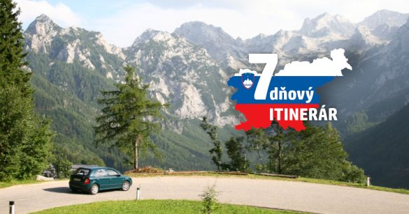 Slovinsko itinerár roadtrip
