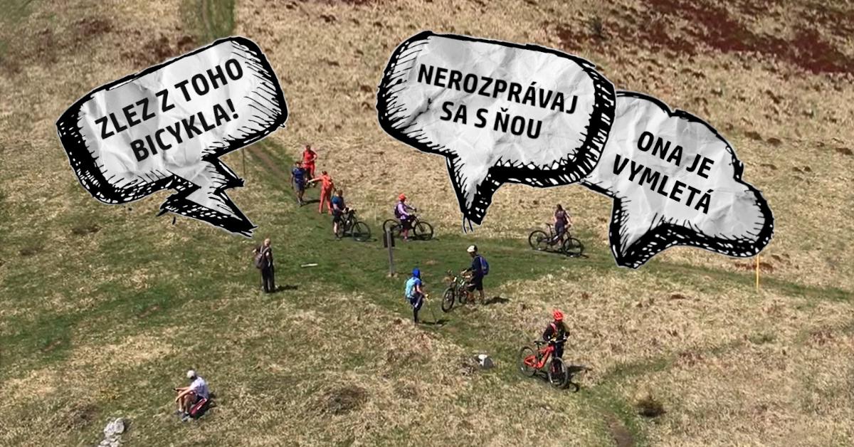 Cyklisti na hrebeni Veľkej Fatry. Áno či nie?