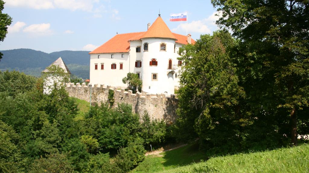 Slovinsko, hrad v meste Velenje