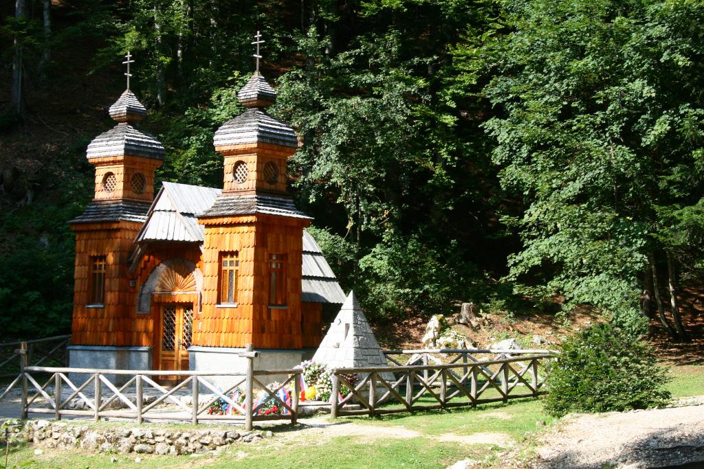 slovinsko, vršič, kaplnka