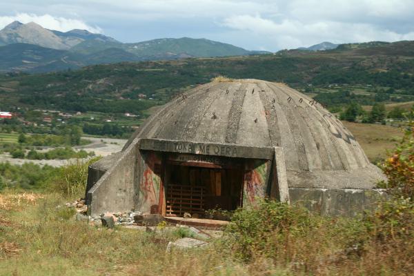 bunker albánsko