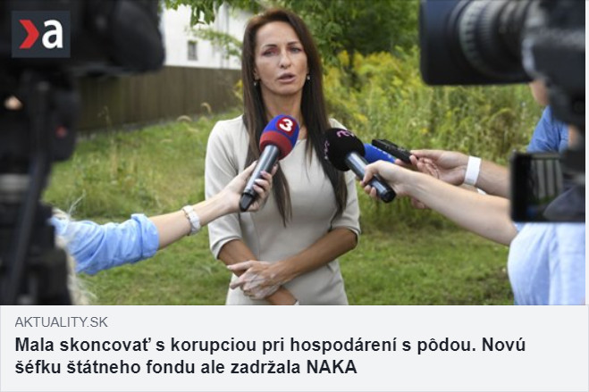 Bartošová slovenský pozemkový fond kauza aktuality