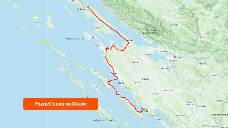 Strava 1000 km jadranských deň 2