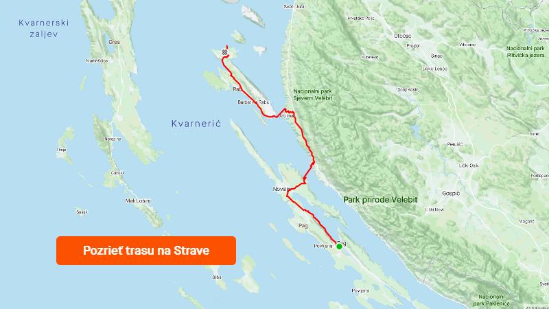 Strava 1000 km jadranských deň 3
