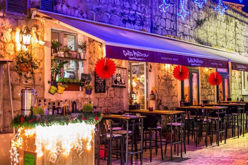 corto martese freestyle restaurant split