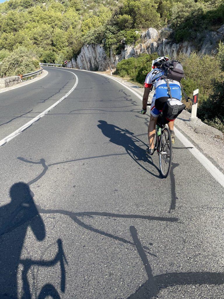 jadranska magistrala cyklisti