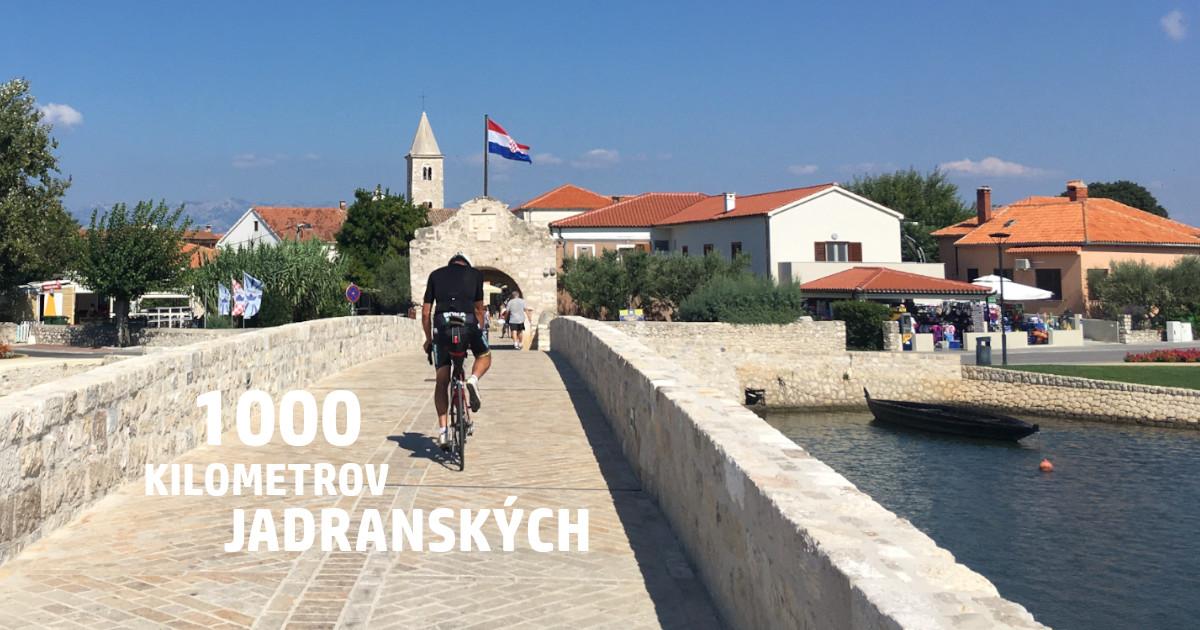 Tisíc kilometrov jadranských – zo Splitu do Bratislavy