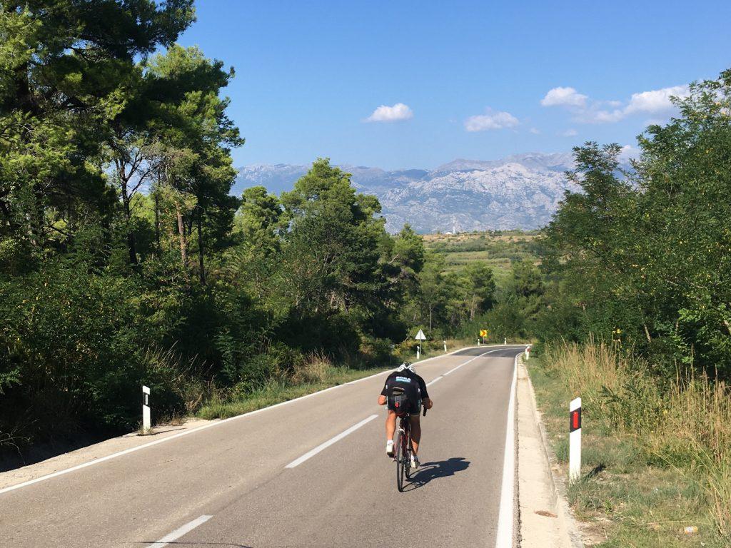 zjazd bicykel chorvátsko